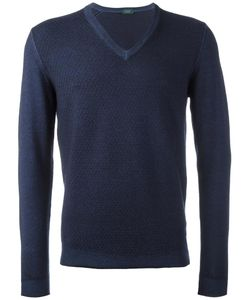 Zanone | V-Neck Pullover 56 Virgin Wool