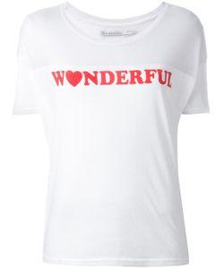 Zoe Karssen | Wonderful Print T-Shirt Large Cotton/Polyester