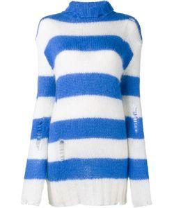 Filles A Papa | Striped Rollneck Sweater 1 Mohair/Polyamide/Merino