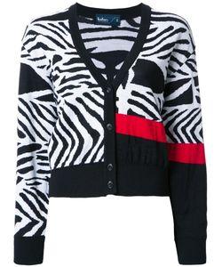 Kolor | Zebra Print Cardigan 2 Wool