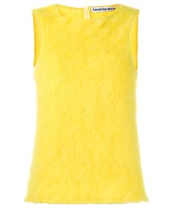 FAUSTINE STEINMETZ | Sleeveless Knitted Top Large Mohair