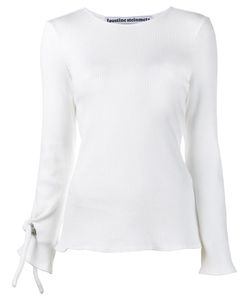 FAUSTINE STEINMETZ | Round Neck Top Large Cotton