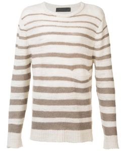 The Elder Statesman | Striped Jumper Xl Wool