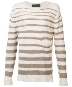 The Elder Statesman | Striped Jumper Xl Wool