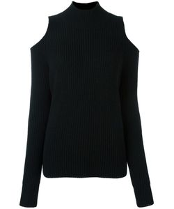 ZOE JORDAN | Cold Shoulder Jumper Medium Wool/Cashmere