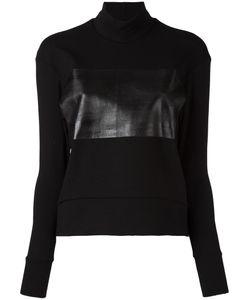 Io Ivana Omazic | Tonal Panel Sweatshirt Small Viscose/Cotton/Polyamide/Spandex/Elastane