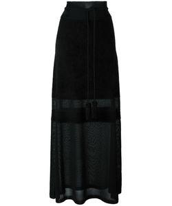 Antonio Marras   Semi-Sheer Long Skirt Small Nylon/Polyester/Viscose