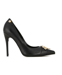 Love Moschino | Logo Plaque Pumps 38 Leather