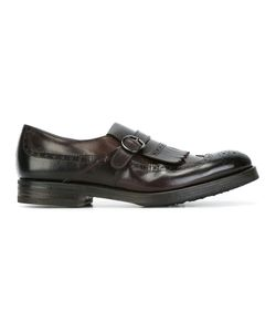 HENDERSON BARACCO | Perforated Detailing Monk Shoes 43.5 Leather/Rubber