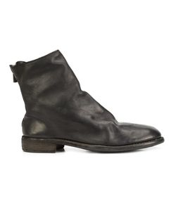 GUIDI | Back Zip Ankle Boots 45 Leather