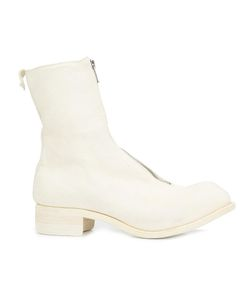 GUIDI | Front Zip Boots 41 Leather