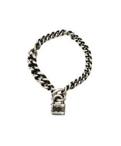 WERKSTATT:M NCHEN   Werkstattmünchen Padlock Chain Bracelet Adult Unisex Small
