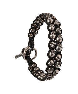 TOBIAS WISTISEN | Beaded Skull Bracelet Adult Unisex
