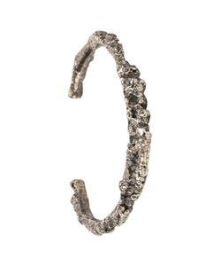 TOBIAS WISTISEN | Textured Cuff Bracelet Adult Unisex Medium