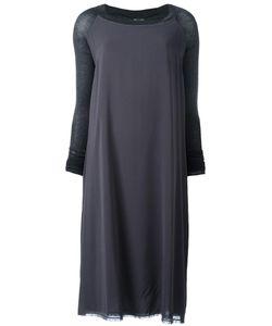 Kristensen Du Nord | Double Panel Dress 3 Silk/Spandex/Elastane