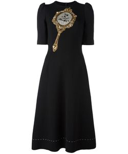 Dolce & Gabbana | Mirror Patch Dress 38 Polyamide/Spandex/Elastane/Virgin