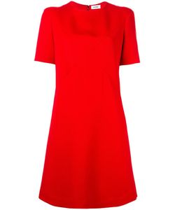 Courreges | Courrèges Crossover Stitching Dress 38 Polyester/Viscose/Wool