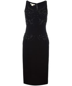 Antonio Berardi | Embellished Sleeveless Dress 42 Silk/Spandex/Elastane/Modal