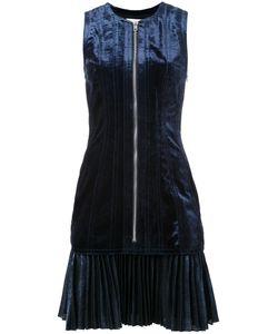 3.1 Phillip Lim   Bonded Velvet Dress 4 Silk/Polyester/Cupro/Viscose