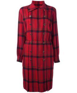 Saint Laurent | Yves Vintage Longsleeved Check Dress 38