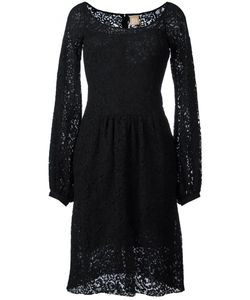 Pascal Millet | Bell Sleeve Lace Dress 40 Cotton/Polyamide/Viscose