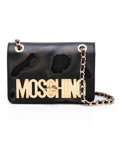 Moschino | Burned Effect Shoulder Bag