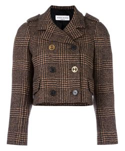 Sonia Rykiel | Tweed Cropped Jacket 40 Cupro/Wool/Alpaca