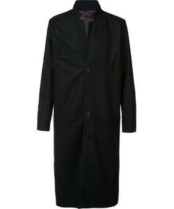 Black Fist | Single Breasted Coat Large Wool
