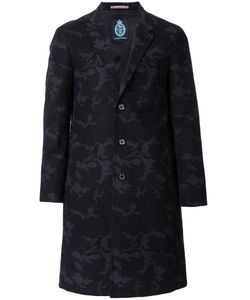 GUILD PRIME | Jacquard Single Breasted Coat 2 Cotton