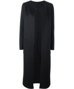 Tagliatore | Scoop Neck Mid Coat 44 Virgin Wool