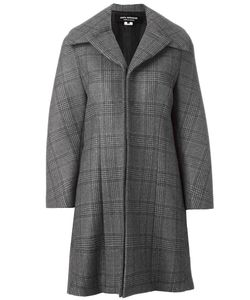 JUNYA WATANABE COMME DES GARCONS | Junya Watanabe Comme Des Garçons Checked Oversized Coat Large