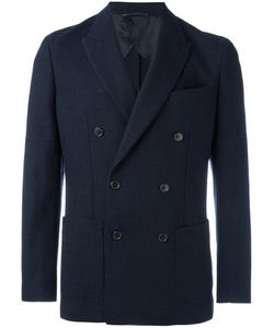 Michael Michael Kors | Double-Breasted Blazer 38 Cotton/Polyester/Viscose/Wool