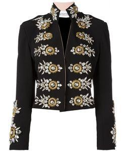 STEFANO DE LELLIS | Embellished Open Front Jacket 44