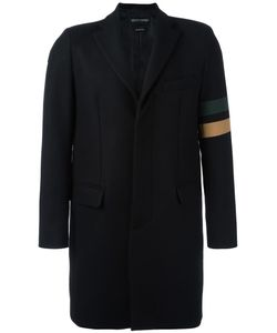 Andrea D'amico   Striped Arm Detailing Coat 50 Polyamide/Cashmere/Wool