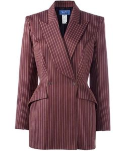 THIERRY MUGLER VINTAGE | Double Breasted Blazer 42