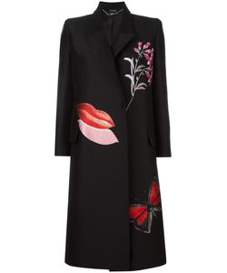 Alexander McQueen | Vanity Obsession Oversized Coat 40 Silk/Polyester/