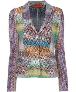 Missoni | Two Button Blazer 44 Nylon/Wool