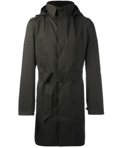 NORWEGIAN RAIN | Hooded Raincoat Xl Polyester/Viscose/Cashmere/Recycled Polyester