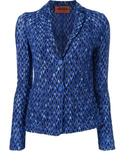Missoni | Two Button Blazer 44 Nylon/Viscose/Wool