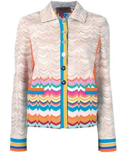 Missoni | Buttoned Jacket 44 Viscose/Wool