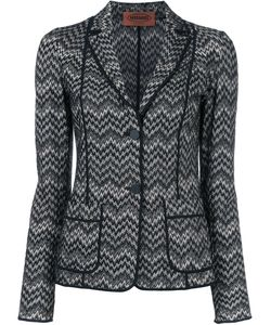 Missoni | Two Button Blazer 44 Viscose/Wool
