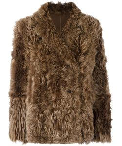 METEO BY YVES SALOMON   Classic Fur Jacket 36