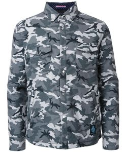 GUILD PRIME | Camouflage Padded Shirt Jacket 3 Cotton