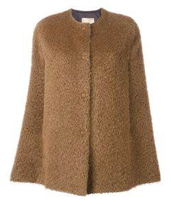 Erika Cavallini | Fluffy Cape 42 Polyamide/Viscose/Mohair/Virgin Wool