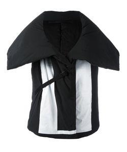 NIL0S   Padded Hoody Print Gilet 0 Cotton/Nylon/Polyester/Coconut