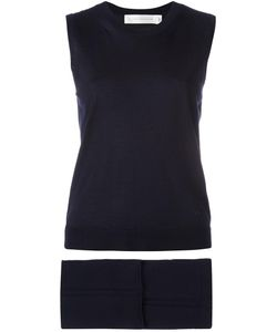 Victoria Beckham | Knitted Tank Top And Cropped Trousers Two Piece Set