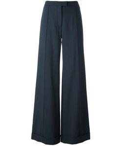Nina Ricci | Wide Leg Trousers 36 Silk/Wool