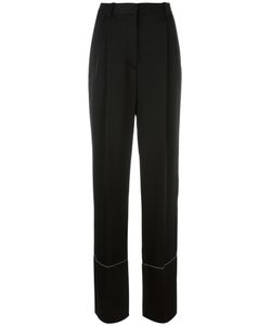 Sonia Rykiel | Straight Leg Trousers 38 Polyester/Triacetate