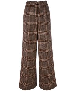 Sonia Rykiel | Checked Tweed Trousers 38 Viscose/Wool/Alpaca
