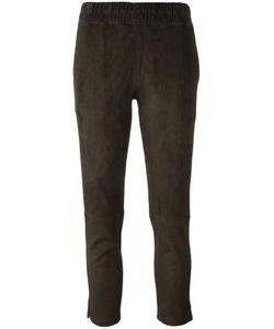 INÈS & MARÉCHAL | Ines Marechal Cropped Slim Trousers 36 Lamb